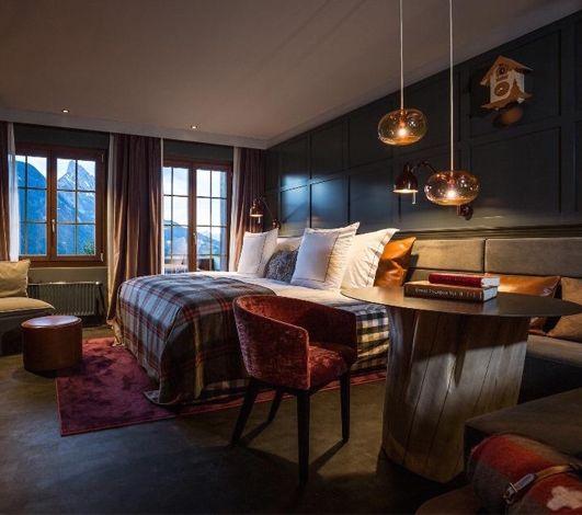 #AuthentikHôtel #3, avec l'hôtel design HUUS à Gstaad