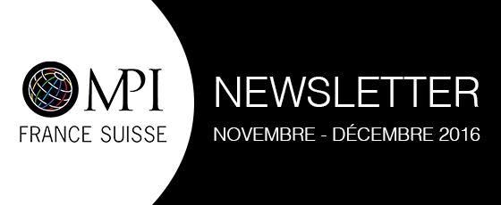 Les news  novembre - décembre 2016