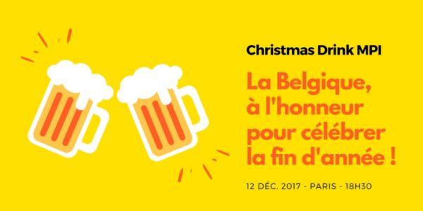 Christmas drink : MPI France aux couleurs de la Belgique