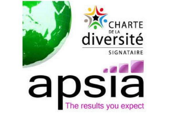 Apsia signe La Charte de La Diversité !
