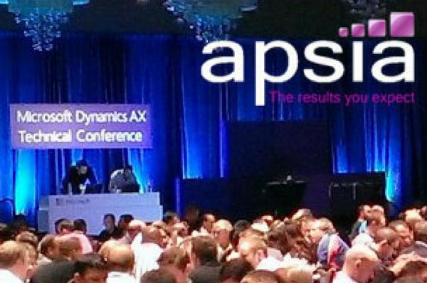 Apsia participe à la Microsoft Dynamics AX Tech 2014 !
