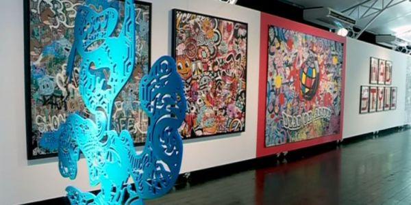 Speedy Graphito utlise le Street art avec  des nouveaux supports