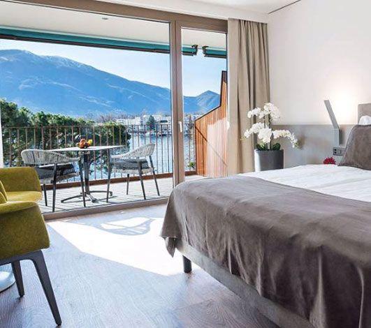 Hotel & Lounge Lago Maggiore, un nouvel hôtel pour un séminaire dans la lumière du lac Majeur