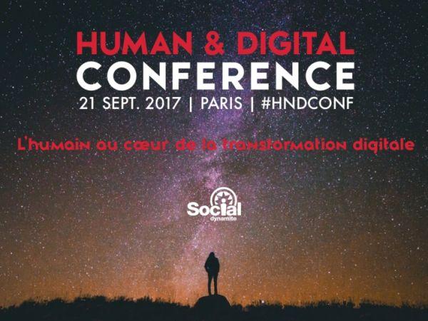 Human & Digital Conference : le LiveLab de Social Dynamite est lancé !
