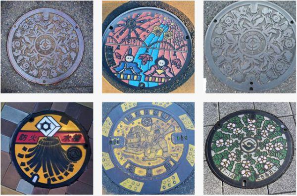 Du street-art même pour les plaques d'égouts