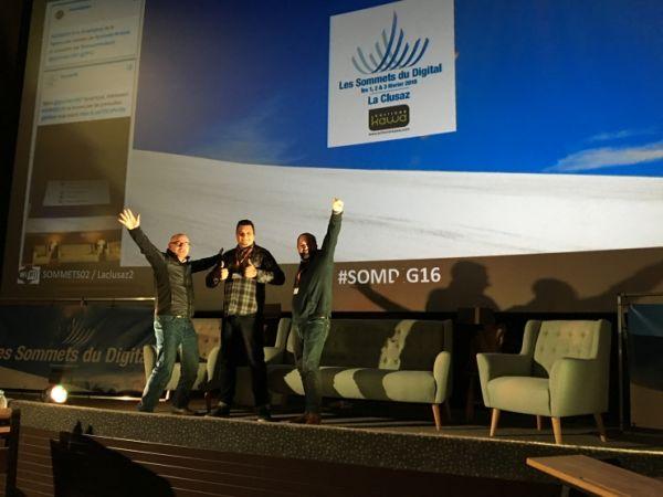 Social Dynamite est aux Sommets du Digital pour parler influence collective