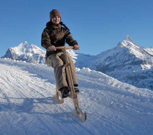 Connaissez-vous le Velogemel, le plus suisse des engins de glisse ?