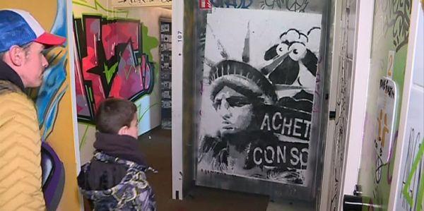 Un hôtel se transforme en temple du street-art en Vendée