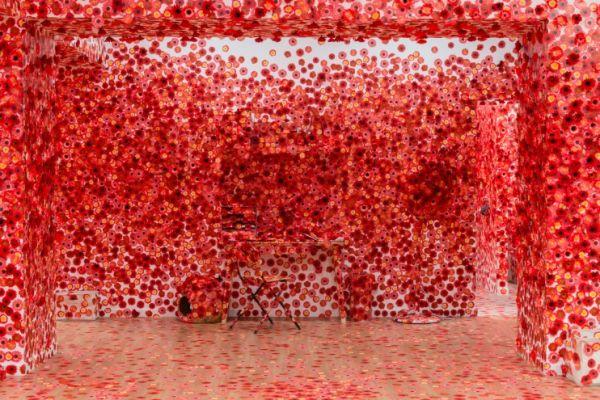 La nouvelle installation immersive de Yayoi Kusama