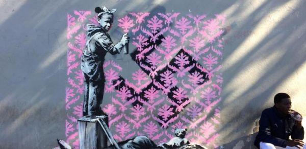 Banksy dans la capitale française !