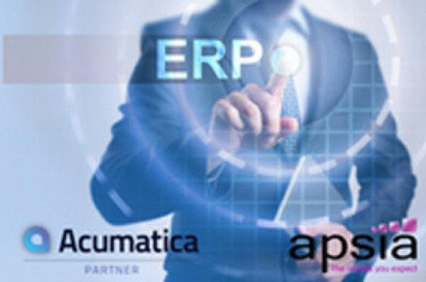 APSIA devient le 1er partenaire de l'#ERP #Cloud #Acumatica pour la France !