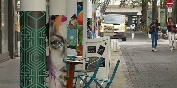 Le street-art colore les rues de Saint Nazaire