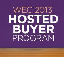 WEC 2013 Hosted Buyer Program