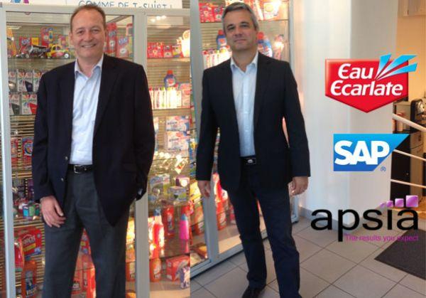 Eau Ecarlate réussit la mise en œuvre de SAP grâce à Apsia