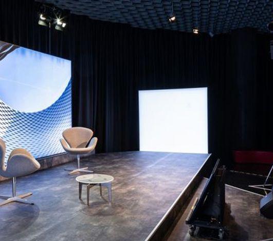 À Bâle, un studio de streaming intégré au centre de congrès