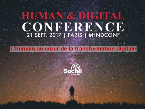 Social Dynamite lance une nouvelle série d'événements : Human & Digital Conference