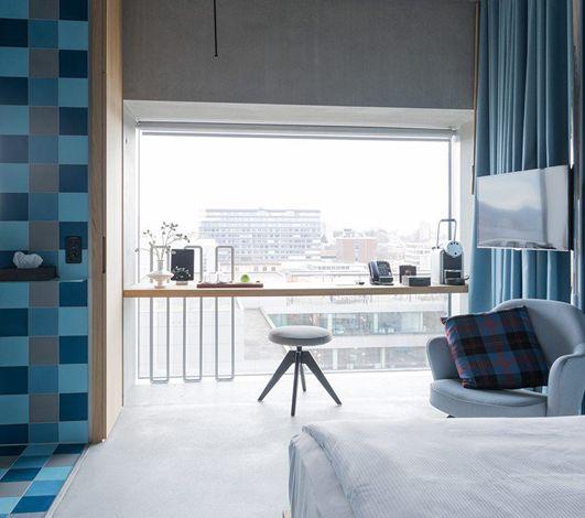 Placid Hotel Zurich : nouvel hôtel 4* urbain avec vue