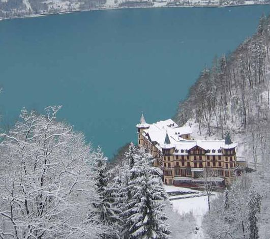 #WinterEventsAreComing #6 – Grandhotel Giessbach ou l'exclusif privatisé