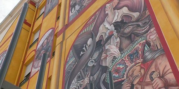 Destruction d'une oeuvre de street-art à Lyon