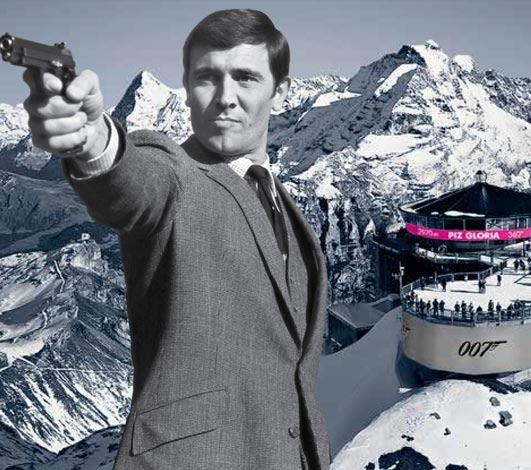 Bond World 007 en Suisse: Schilthorn, un lieu culte