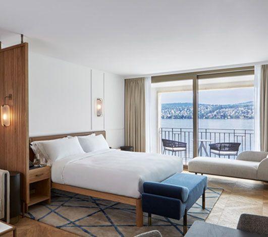 Alex, Lake Zürich : la nouvelle adresse exclusive des hôtels Campbell Gray