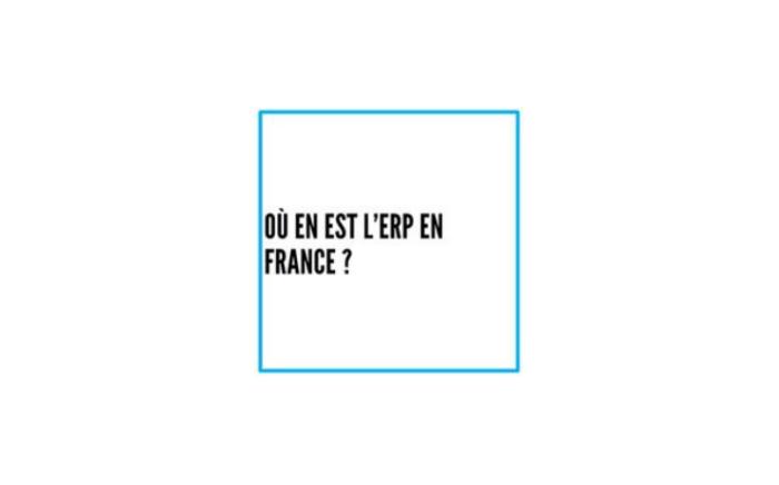 La France, mal équipée en ERP ?