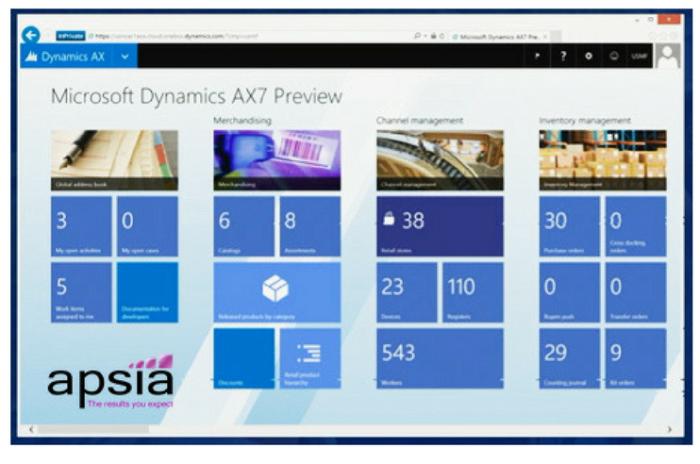 Microsoft Dynamics AX 7 arrive !