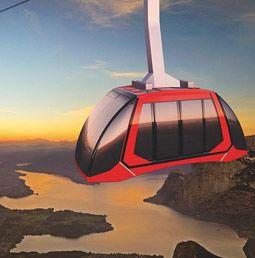 Dragon Ride: Nouveau téléphérique panoramique pour le Mont Pilate