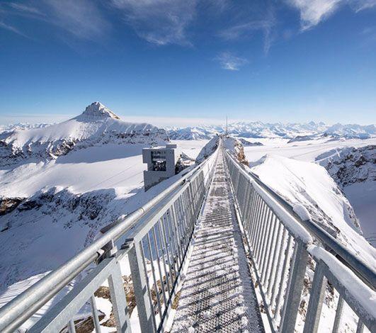 Glacier 3000 - terrain de jeu incentive été & hiver