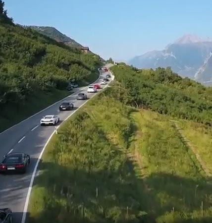 Les clients Michelin North America font le Grand Tour de Suisse