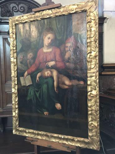 Le tableau volé pourrait être un un Michel-Ange