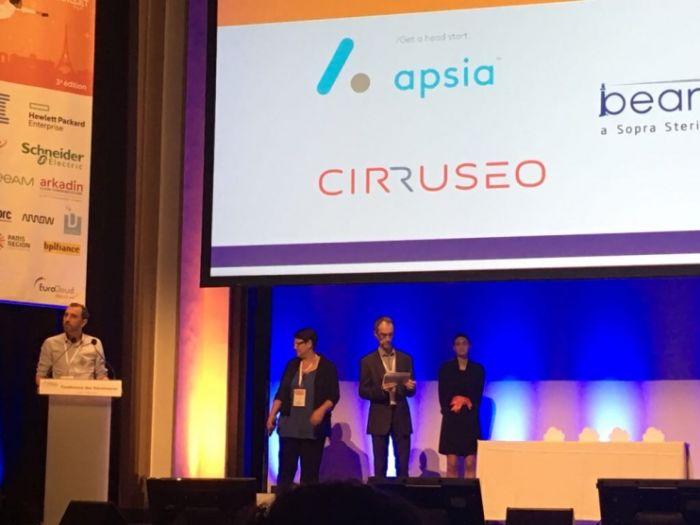 Apsia finaliste des Trophées du Cloud 2017
