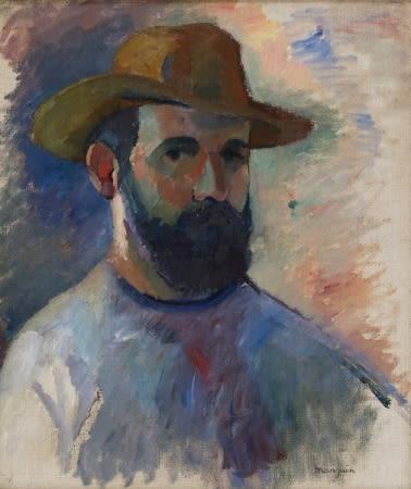 Autoportrait d' Henri Manguin