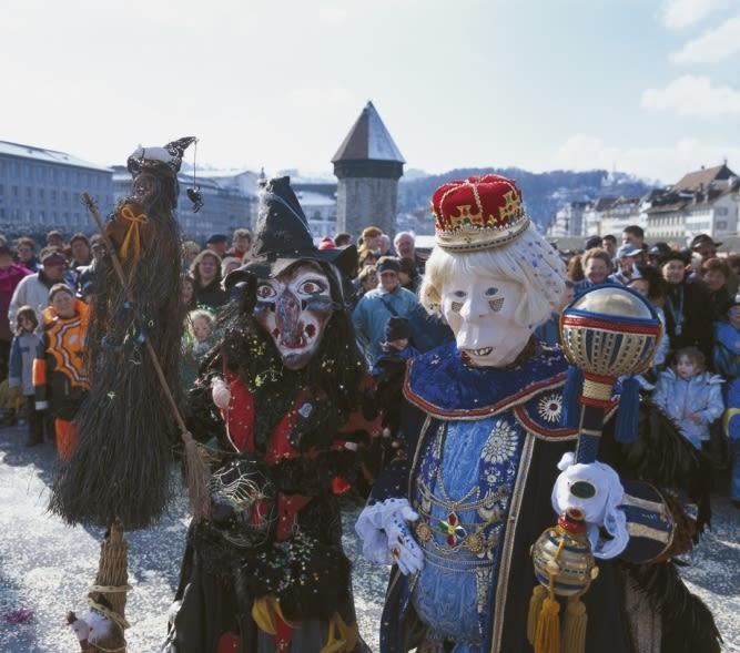 Carnaval de Lucerne: une ville en effervescence