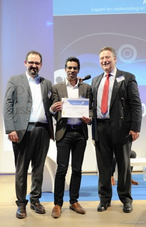 ComInTech - myQaa remporte le prix de la meilleure solution innovante