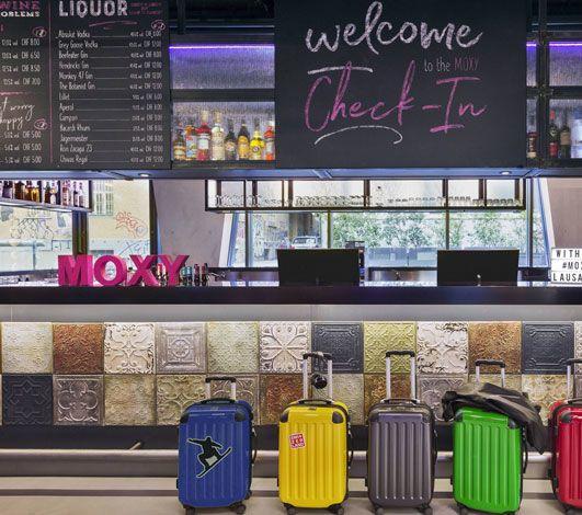 Moxy Hotels déploie son concept audacieux à Lausanne et Berne