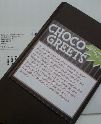 Chocogreets : une start-up suisse qui sait parler aux clients