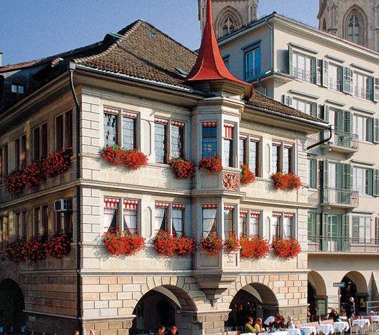 5 maisons de corporation historiques à privatiser à Zurich et Bâle