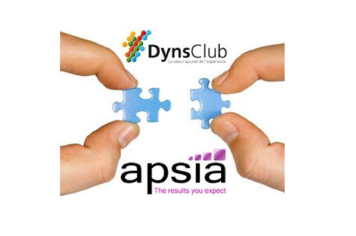 Apsia partenaire du DynsClub !
