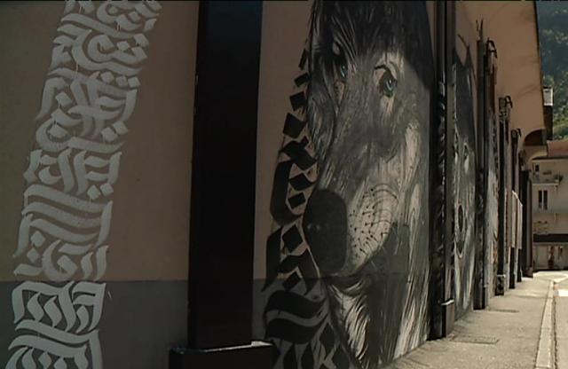 Le Street art, une nouveauté à Moûtiers