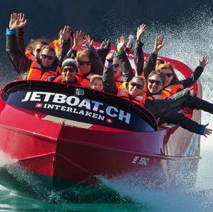 Jet Boat à Interlaken: frissons garantis