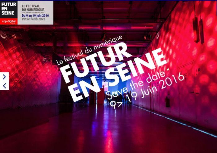 [FUTUR EN SEINE 2016] Cinq innovations numériques stars pour relever les défis de demain !