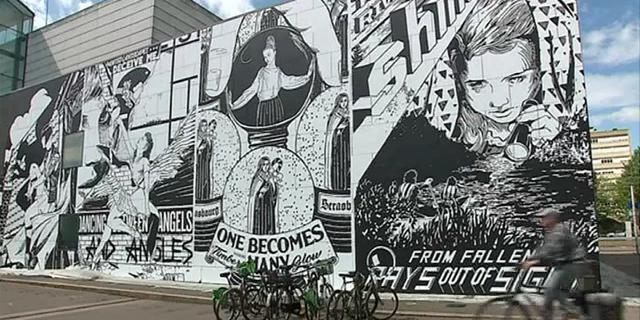 Une immense fresque de Street-Art pour les 20 ans du musée d'art contemporain de Strasbourg