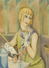 Portrait de Lili Elbe, par Gerda Gottlieb