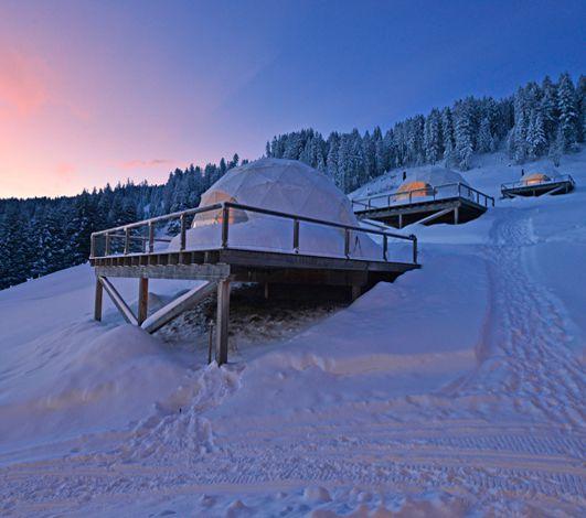 #WinterEventsAreComing #10 – Whitepod ou l'hébergement immersif