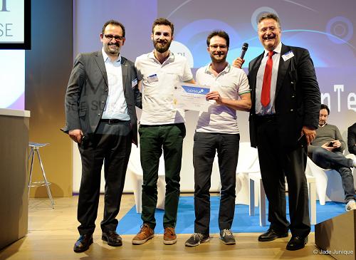 ComInTech - Swapcard remporte le concours de startups