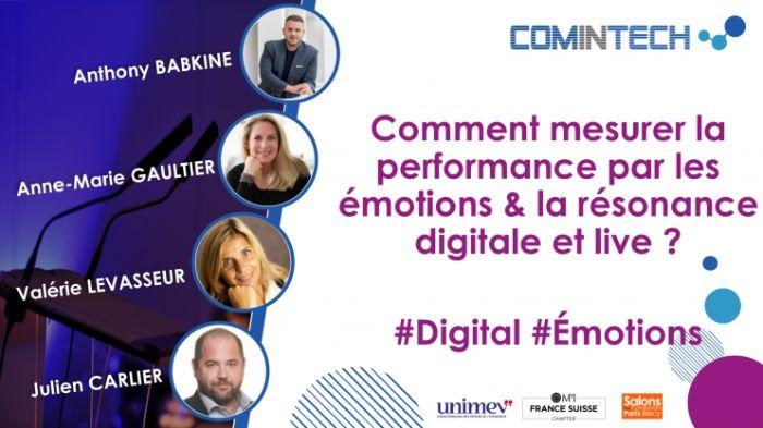 Mesurer la performance par le niveau d'attention : mesure des émotions et de la résonance digitale et live.