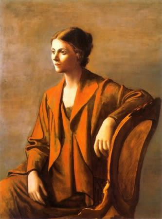 Portrait d'Olga Picasso par Pablo Picasso