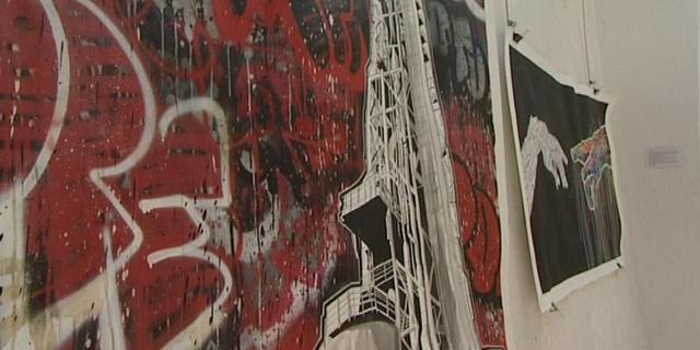 OTOM, un street artist, au centre d'art contemporain