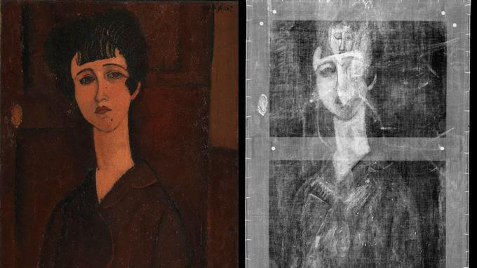 Avec Modigliani aussi, un tableau peut en cacher un autre